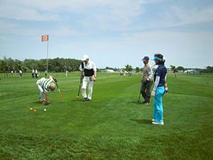 パークゴルフ大会の様子